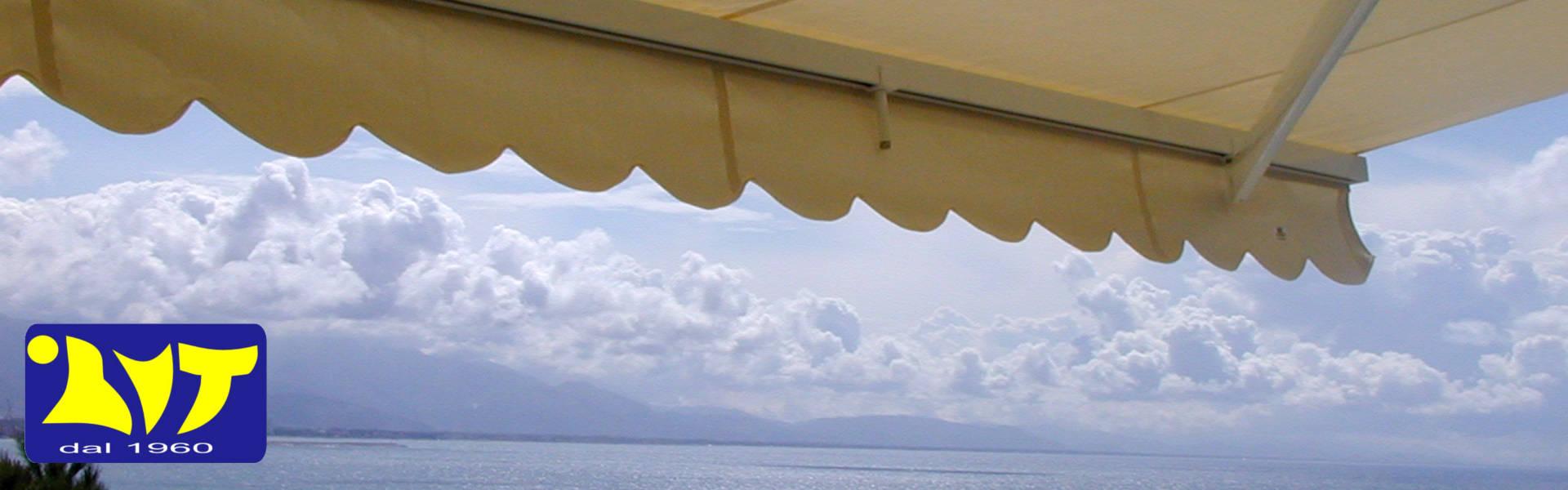 tenda da sole antivento