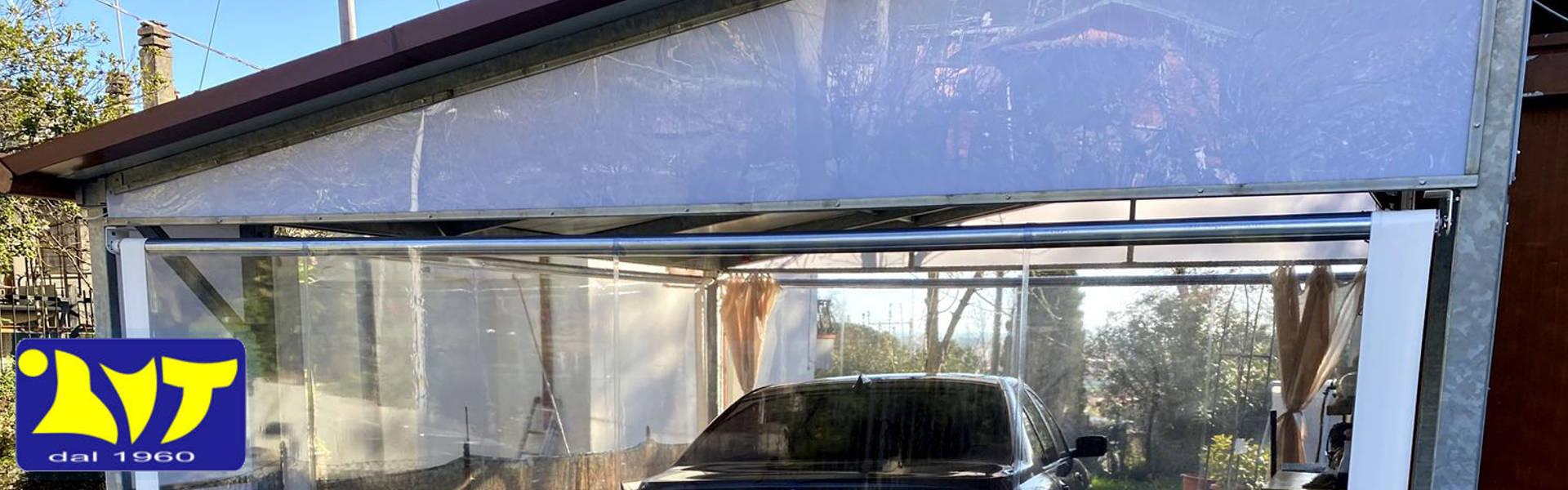tende invernali per portico esterno