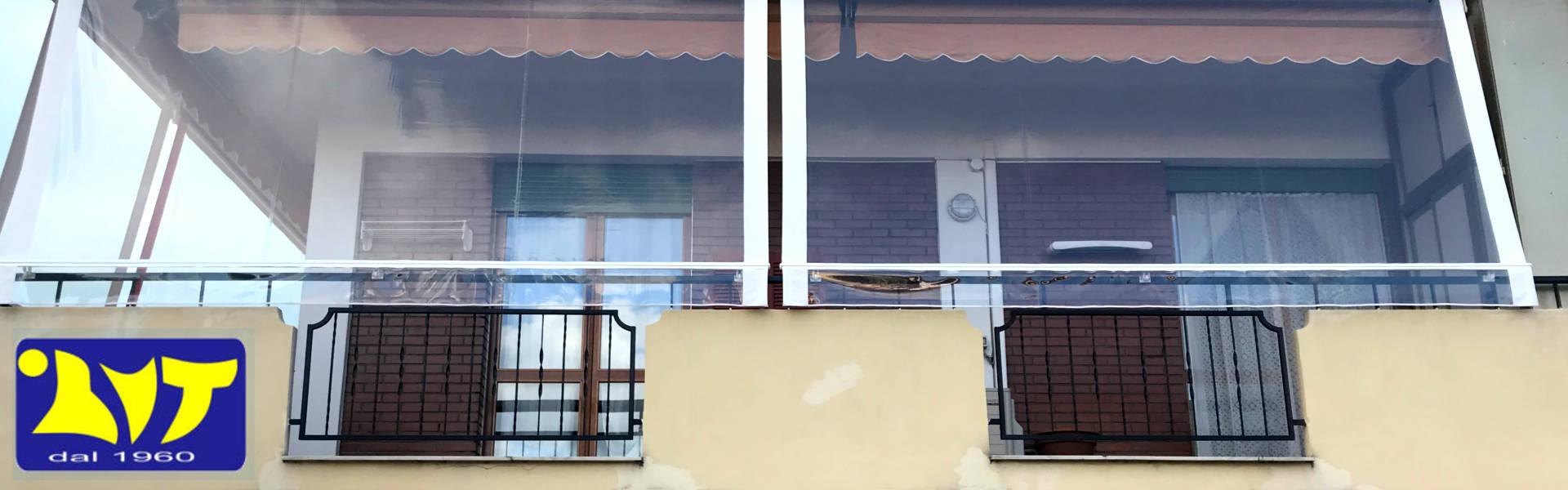 coperture per terrazzi e balconi