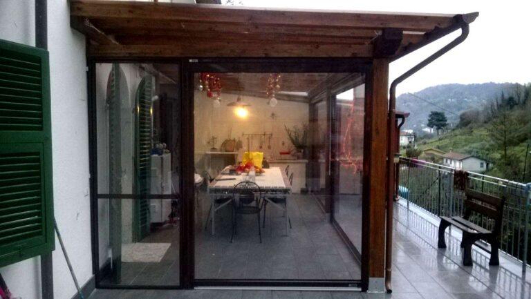 tenda invernale per veranda
